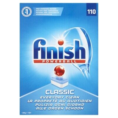 Finish Classic Dishwasher Tablets, 110 Tabs, Pack Of 1 • 9.99£