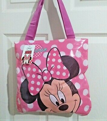 £4.99 • Buy Girls' Disney Minnie Mouse Children's Shopping Tote Bag Shoulder Bag With Zip
