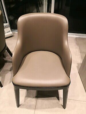 AU1000 • Buy Leather Dining Chairs X 6