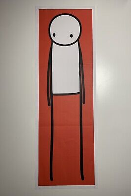 Stik Big Issue 2013, Red Unsigned Poster • 325£