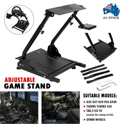 AU125.99 • Buy New Adjustable Game Stand Game Support For Logitech G29/G27 Racing Wheel Shifter