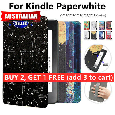 AU15.99 • Buy HQ Smart Magnetic Case Cover For Kindle Paperwhite 1/2/3/4 10th Gen2018