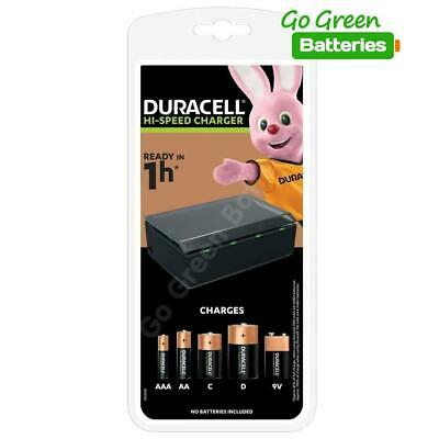 £25.95 • Buy Duracell CEF22 Universal Multi Charger - AA AAA C D & 9V Rechargeable Batteries