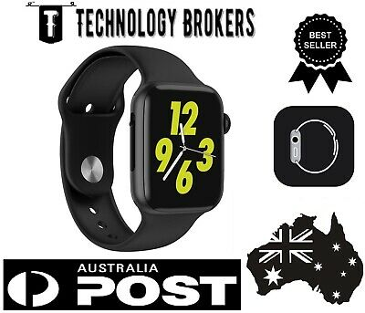 AU51.99 • Buy Apple Watch Series Style Smart Sport Band Heart Rate Blood Pressure Fitness W34+