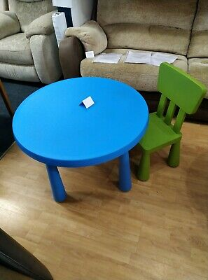IKEA Mammut Table And Chair • 15£