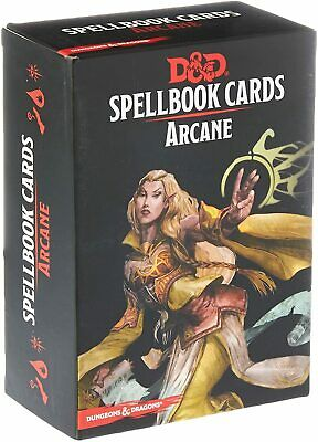 AU38.25 • Buy Arcane Spell Cards Gale Force 9 GF9 5E RPG DnD Dungeons Dragons Pathfinder D20