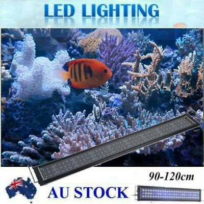 AU46.92 • Buy 90 -120 CM Aquarium LED Lighting 3ft/4ft Marine Fish Tank Light Full Spectrum 8U