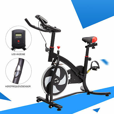 Exercise Spin Bike Home Gym Bicycle Cycling Cardio Fitness Training Workout Bike • 180.64£