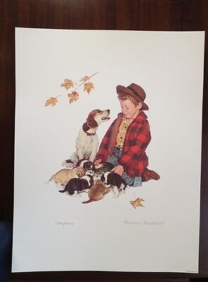 $ CDN63.73 • Buy Norman Rockwell Lithograph  Pride Of Parenthood  Limited Edition Numbered