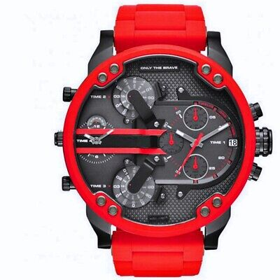 $ CDN53.16 • Buy Men's Sport Watch With Large Dial,Stainless Steel Analogue Quartz Watch,Fashion
