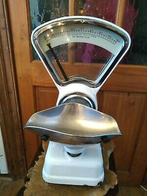 Stunning Vintage Avery Weighing Scales Sweet Shop/Kitchen • 85£