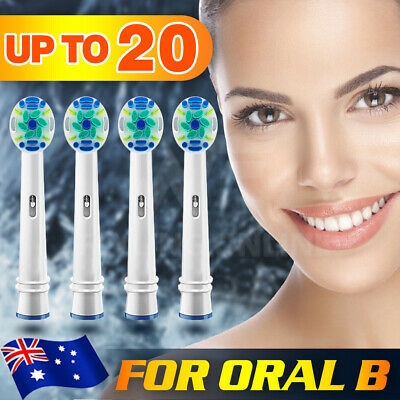 AU5.28 • Buy 4/8/20X Replacement For Oral B Electric Toothbrush Heads Precision Clean Braun