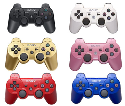 Ps3 For SONY Controller GamePad PlayStation 3 DualShock Wireless Bluthtooth • 11.99£