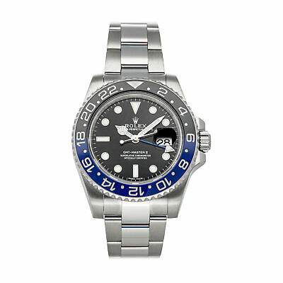 $ CDN22807.26 • Buy Rolex GMT-Master II Batman Auto Steel Mens Oyster Bracelet Watch 116710BLNR