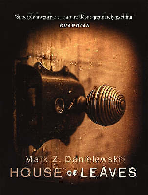House Of Leaves Paperback By Mark Z Danielewski NEW Book • 22.70£