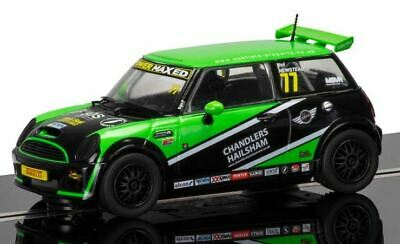 Scalextric C3743 1:32 BMW Mini Cooper S 2015 Mini Challenge Slot Car • 30.07£
