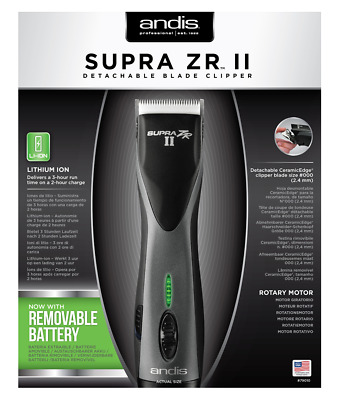 Andis Supra ZR II Cordless Detachable Blade Clipper - New/Other See Description • 169.99£