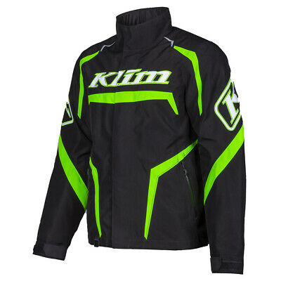 $ CDN416.03 • Buy Klim Men's Kaos Snowmobile Jacket Green Flash M L  2XL 3XL 3803-001-***-300