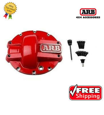 $170 • Buy ARB 4x4 Accessories Red 10-bolt Differential Cover For Chrysler 8.25  - 0750005