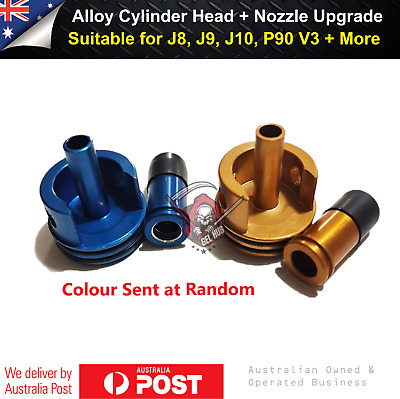 AU23.95 • Buy Alloy Cylinder Head With Nozzle Gen8 J9 J10 M4A1 ACR Gel Blaster Gearbox Upgrade
