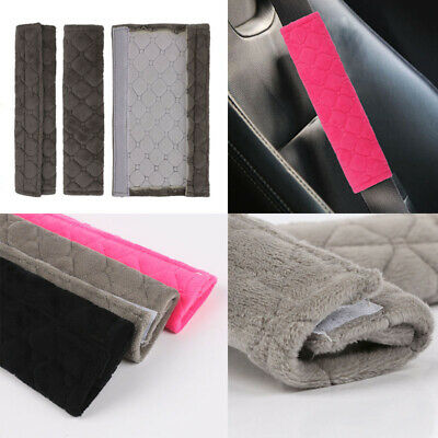 £3.84 • Buy 2x Car Safety Seat Belt Shoulder Pads Cover Cushion Harness Comfortable Pad Soft
