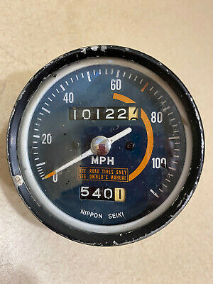 $39.95 • Buy Honda Vintage Speedometer 0-110 MPH Tested In Working Condition - Used .