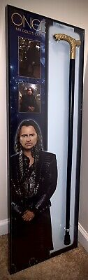 $2500 • Buy Once Upon A Time Screen Used Mr Gold Cane