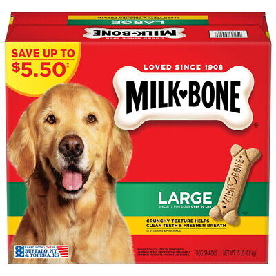 $15.99 • Buy Milk-Bone Dog Biscuits, Large (15 Lbs.) Great Value And Great Service!!