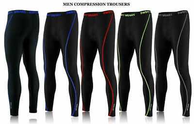 Mens Boys Thermal Compression Tights Base Layer Warm Running Gym Trousers • 10.99£