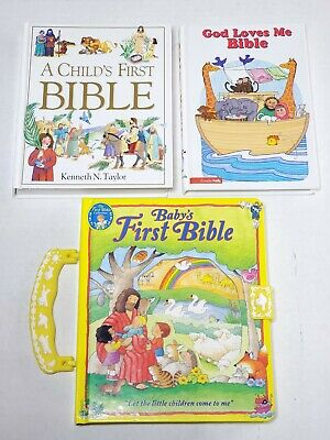 £7.36 • Buy Childrens First Bible Lot X3 Harcover