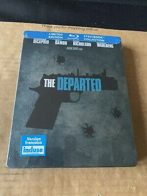 £44.99 • Buy The Departed Reg Free Blu Ray Steelbook NEW & SEALED Canadian Import