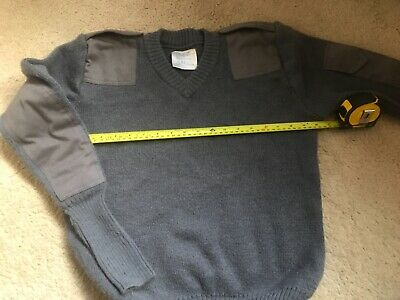 RAF ROYAL AIR FORCE BLUE GREY UTILITY V NECK UTILITY JUMPER  Cadets ?. • 14£