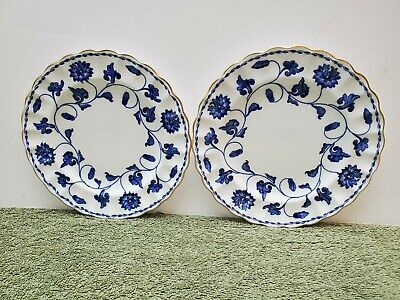 2 Spode Colonel Blue With Gold Trim 6 1/4  Bread Plates • 21.94£