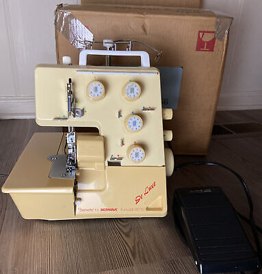 $219.99 • Buy Bernina Funlock 007D Serger-Works GREAT- Free Shipping-Vintage!