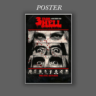 AU19.95 • Buy 3 From Hell Official, ORIGINAL DESIGN, MOVIE POSTER PRINT PREMIUM