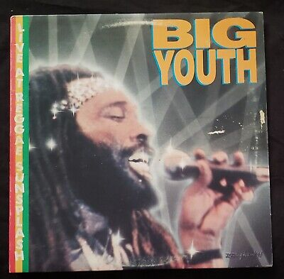 Vintage BIG YOUTH VINYL RECORD LIVE AT REGGAE SUNSPLASH • 12.21£