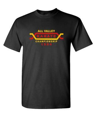 $12.99 • Buy ALL VALLEY KARATE TOURNAMENT - 80's Retro - Mens Cotton T-Shirt