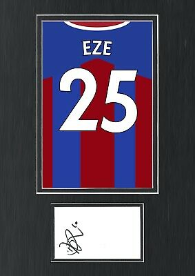 £59.99 • Buy Eberechi Eze Hand Signed Autograph A3 Crystal Palace Shirt Poster Display COA