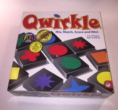 $ CDN31.64 • Buy Qwirkle Match Colors And Shapes Strategy MindWare Game Complete