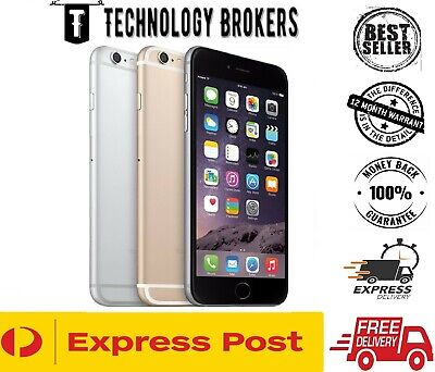 AU254 • Buy Apple IPhone 6 Plus 16GB 64GB 128GB 4G GREY GOLD SILVER 100% UNLOCKED [AU Stock]