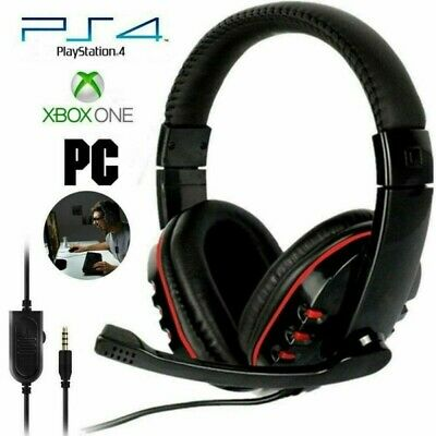 AU16.88 • Buy Gaming Headset USB Wired LED Headphones Stereo With Mic For PC Desktop & Laptop