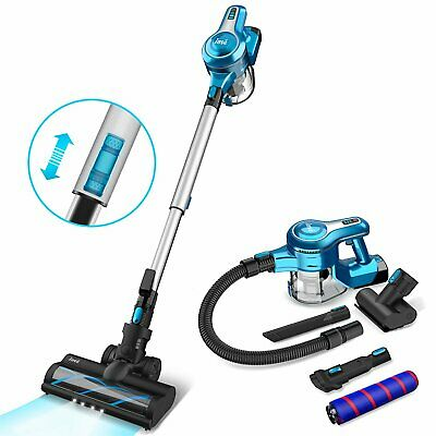 AU189.99 • Buy INSE Cordless Vacuum Cleaner 23Kpa 250W Brushless Motor Stick Vacume Blue