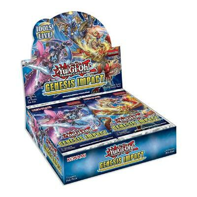 £49.99 • Buy YuGiOh! - Genesis Impact Booster (24 Packs) 1st Edition Trading Card Game