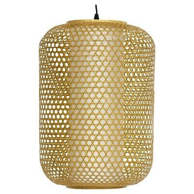 ORIENTAL FURNITURE Taka Japanese Bamboo Hanging Lantern | Neutral 20  | 🆕 • 86£