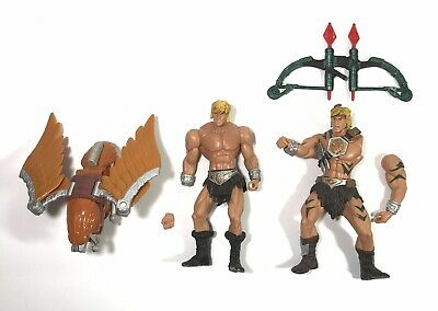 $24.95 • Buy Masters Of The Universe 200X Jungle Attack He-Man Eagle Flight Pak Parts Lot