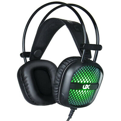 $ CDN24.99 • Buy Gaming Headset 7 Color LED Backlight 3.5mm Stereo Over-Ear Headphones With Mic