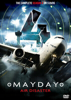 Mayday Air Disaster: The Complete Season 4 DVD (2015) Cert E 3 Discs Great Value • 39.99£