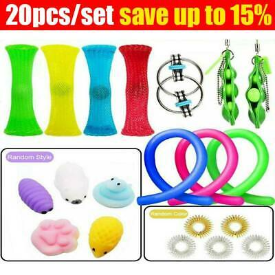 AU19.86 • Buy 20Pack Fidget Sensory Toys Set Autism Stress For ADHD Relief Special Education