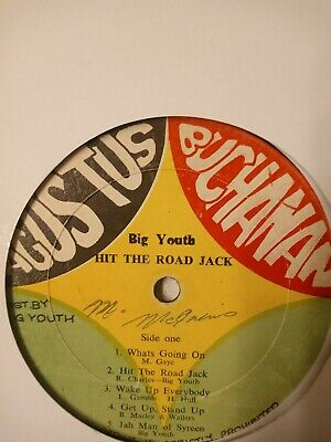 Big Youth ‎– Hit The Road Jack - Vinyl LP 1976 • 9.40£