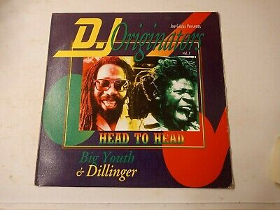 Big Youth & Dillinger - D.J. Originators Vol. 1 - Head To Head - Vinyl LP 1995 • 10.85£